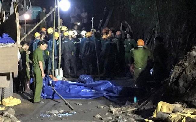 Sập hầm lò, 2 công nhân thương vong tại Quảng Ninh