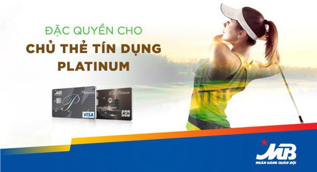 Đặc quyền cho chủ thẻ tín dụng MB Platinum