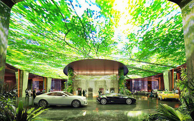 Dubai chi 12.800 tỷ để xây dựng khách sạn kết hợp rừng mưa nhiệt đới đầu tiên trên thế giới