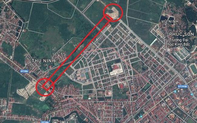 vu 100ha dat doi 139km duong chi phi lam 1km duong o bac ninh dat gap doi cao toc lang hoa lac