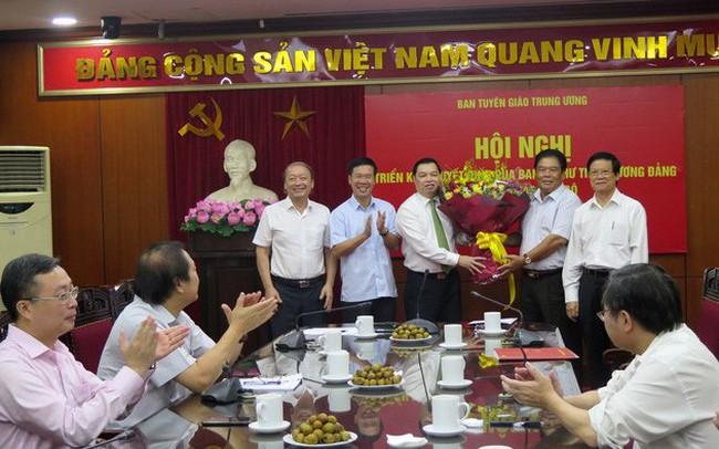 Ông Lê Mạnh Hùng làm Phó ban Tuyên giáo Trung ương