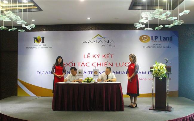 LP Land chính thức trở thành đơn vị phân phối độc quyền dự án Amiana Condotel Nha Trang
