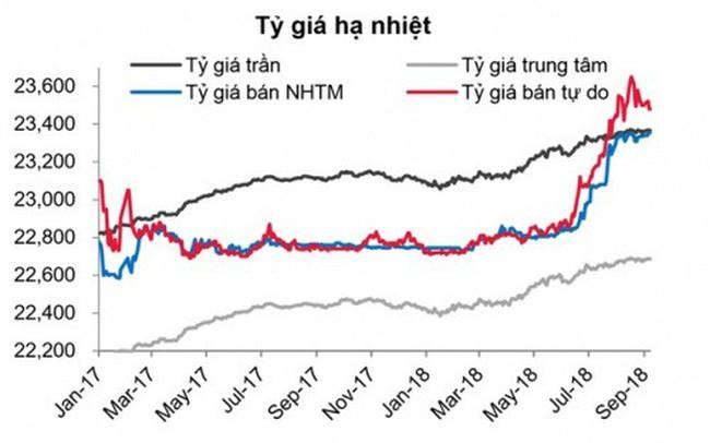 NHNN đã chủ động đẩy lãi suất, tránh áp lực lên tỷ giá
