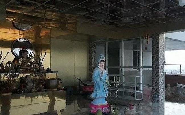 TPHCM: Xử phạt chủ đầu tư xây chùa trên nóc tòa chung cư