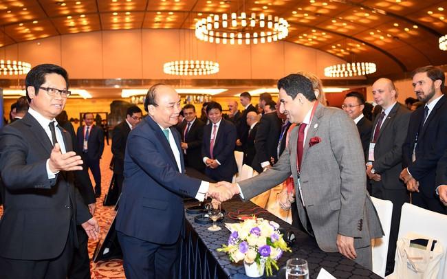 Thủ tướng Nguyễn Xuân Phúc: Trong cuộc chơi toàn cầu hóa, khi Việt Nam tiến lên, các nước khác cũng đang tiến lên