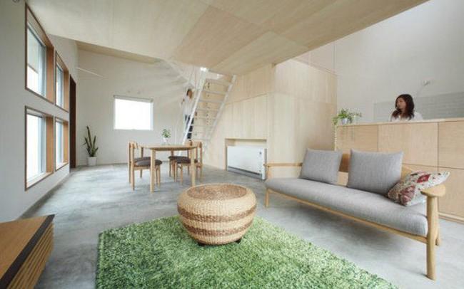 Ngôi nhà nhỏ mà đẹp như mơ của vợ chồng người Nhật