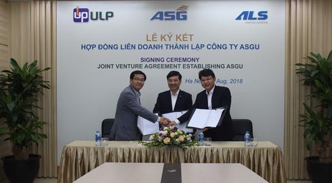 Dịch vụ  Sân Bay (ASG) hợp tác thành lập liên doanh với đối tác ULP Hàn Quốc