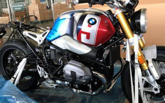 BMW R nineT Spezial và K1600 Grand America bất ngờ xuất hiện tại sân bay Tân Sơn Nhất