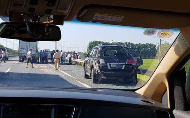 Vụ tài xế Lexus biển tứ quý bị tông tử vong khi làm việc với CSGT: 'Tôi bị giật mình, không xử lý kịp'
