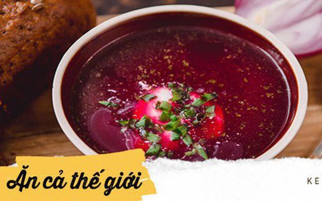 Vòng quanh các nước thưởng thức những bát súp lạnh truyền thống vừa độc vừa lạ