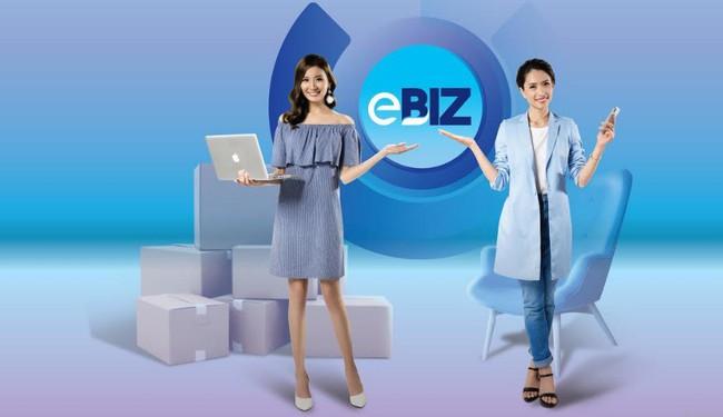 eBiz: Chuyển tiền miễn phí, tài khoản dễ nhớ