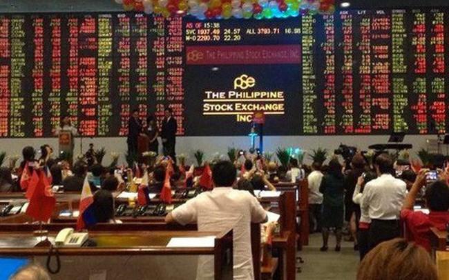 """Philippines trở lại """"ngôi"""" thị trường chứng khoán tệ nhất châu Á"""