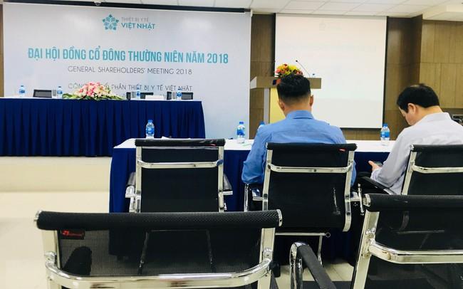 """ĐHĐCĐ Thiết bị Y tế Việt Nhật (JVC) bất thành, cổ đông """"bức xúc"""" muốn ý kiến lên UBCKNN"""