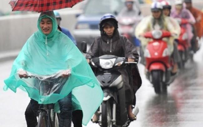 Ảnh hưởng không khí lạnh, miền Bắc mưa lớn diện rộng