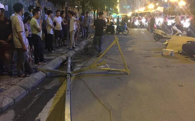 Nguyên nhân ban đầu vụ cần trục rơi xuống đường ở Hà Nội khiến 1 người tử vong tại chỗ