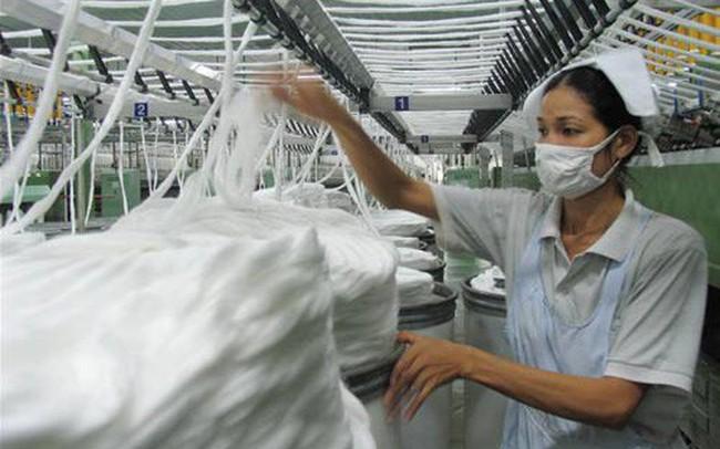 Nhập khẩu xơ, sợi dệt Việt Nam tăng mạnh