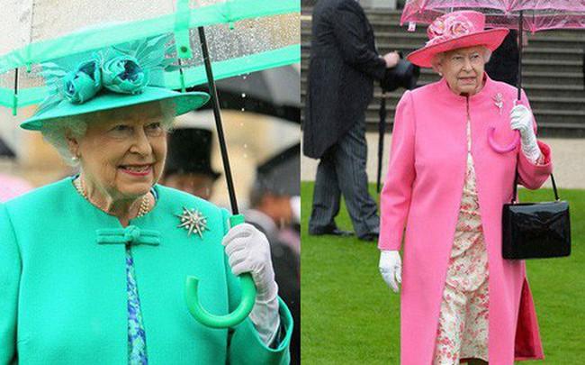 Những hình ảnh chứng tỏ niềm đam mê mãnh liệt của Nữ hoàng Anh với những chiếc ô lồng chim đủ màu sắc