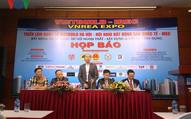 Hơn 1.500 gian hàng và 60 doanh nghiệp nước ngoài tham gia Vietbuild Hà Nội 2018