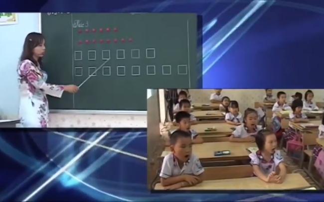 Phụ huynh hoang mang khi sách lớp 1 dạy trẻ đọc bằng ô vuông, hình tròn: Tìm hiểu kỹ trước khi tranh luận