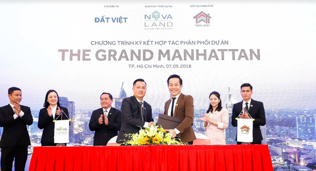 Tatiland chính thức trở thành nhà phân phối Dự án The Grand Manhattan