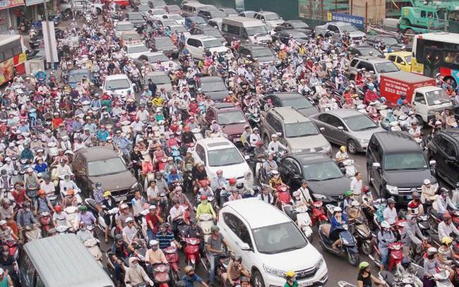 Hà Nội đề xuất thu phí phương tiện cá nhân vào nội đô