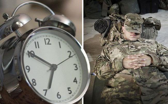 Bí quyết ngủ ngon lành trong 2 phút của lính Mỹ: 96% người thành công sau 6 tuần áp dụng