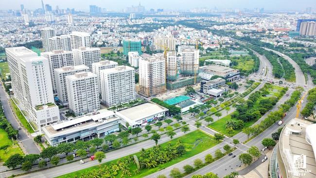 Toàn cảnh khu đô thị hiện đại bậc nhất Sài Gòn với hàng chục nghìn căn nhà cao cấp đang ùn ùn mọc lên