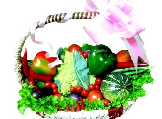 Nông sản Đà Lạt vào giỏ quà Tết