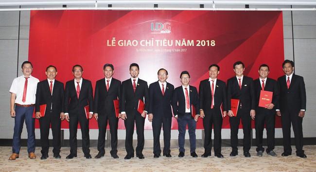 LDG Group giao chỉ tiêu năm 2018 cho các đơn vị thành viên