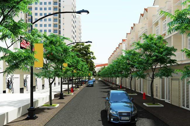 Cất nóc dự án chung cư An Phú Residence