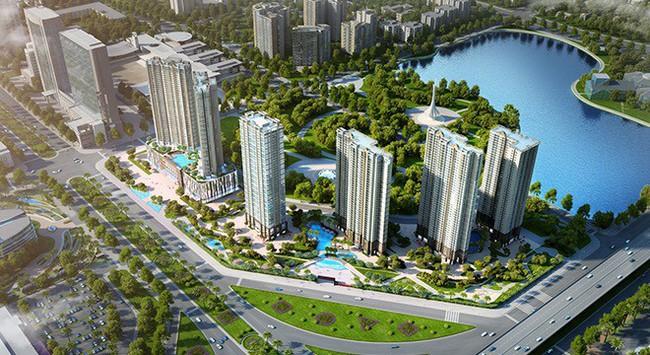 Năm 2018, thị trường căn hộ Tây Nam thủ đô tiếp tục hút giới đầu tư