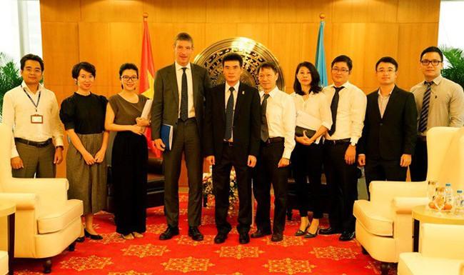 Đại sứ Vương Quốc Anh tại Việt Nam đến thămvà làm việc với PV GAS