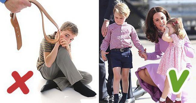 7 quy tắc dạy con theo kiểu hoàng gia mà các bố mẹ nên học hỏi