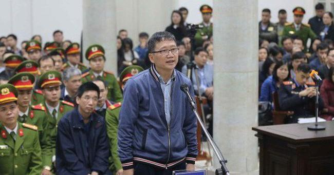 """Phiên xử sáng 9/1: Trịnh Xuân Thanh """"không đọc Hợp đồng 33"""" nhưng vẫn ký"""