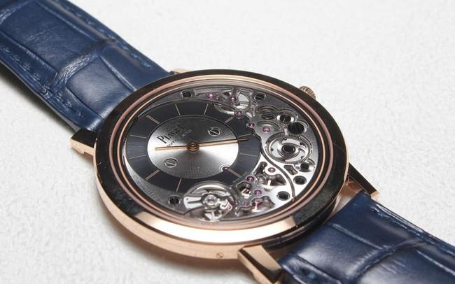 Piaget tiết lộ chiếc đồng hồ tự động mỏng nhất thế giới, thậm chí dày chưa tới 0.5cm