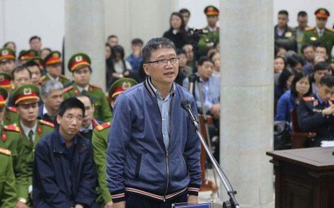 """Bị cáo Trịnh Xuân Thanh khóc và nhận """"tôi thấy mình có lỗi với anh Thăng"""""""