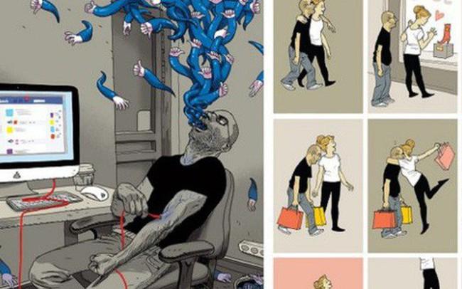 Cuộc sống hiện đại là thế này đây: xót xa, trần trụi