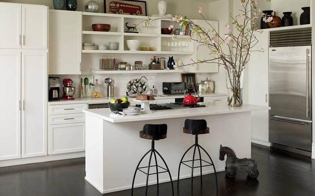 Những tủ bếp đơn giản nhưng khiến không gian bếp đẹp và sang đến không ngờ