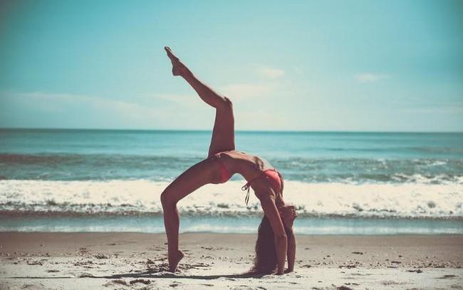Luyện tập yoga, căng thẳng nghiêm trọng cỡ nào cũng biến mất