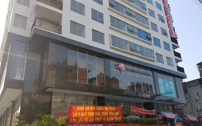 Hà Nội: Thêm 4 chung cư vi phạm phòng cháy chữa cháy