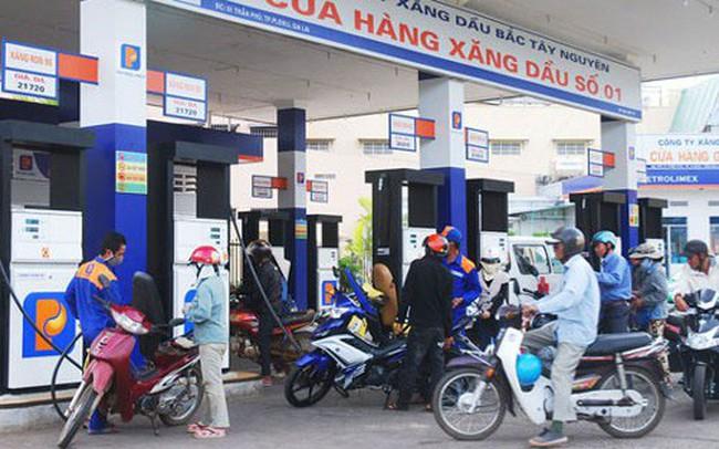 Giá xăng tăng 429 đồng/lít từ 15h chiều nay