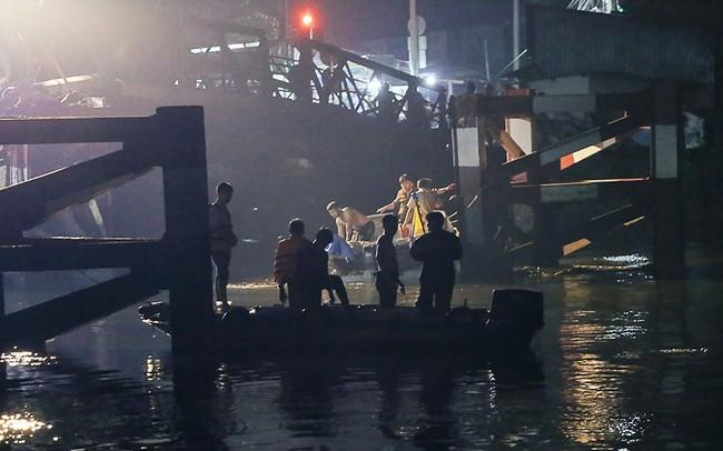 Ngưng tìm kiếm người mất tích vụ sập cầu Long Kiển