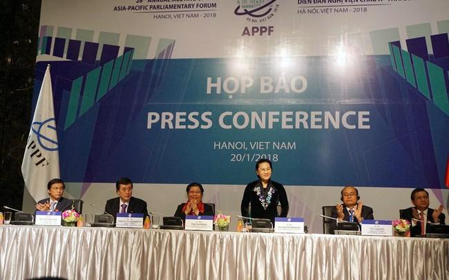 Chủ tịch Quốc hội Nguyễn Thị Kim Ngân chia sẻ 3 điểm nổi bật nhất của APPF 26