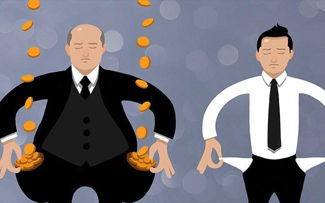 42 người giàu nhất có tài sản bằng 3,7 tỷ người nghèo