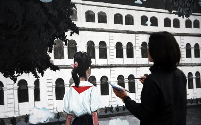Hà Nội: Phố bích họa Phùng Hưng tái khởi động, hoàn thành trước Tết cổ truyền