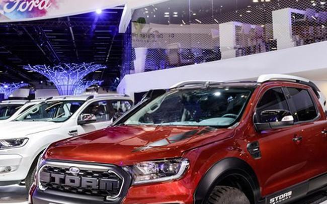 Ảnh: Ford Ranger Storm concept bản giá rẻ của Raptor