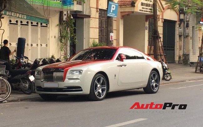 Đại gia Hà Thành phối màu lạ lẫm cho Rolls-Royce Wraith