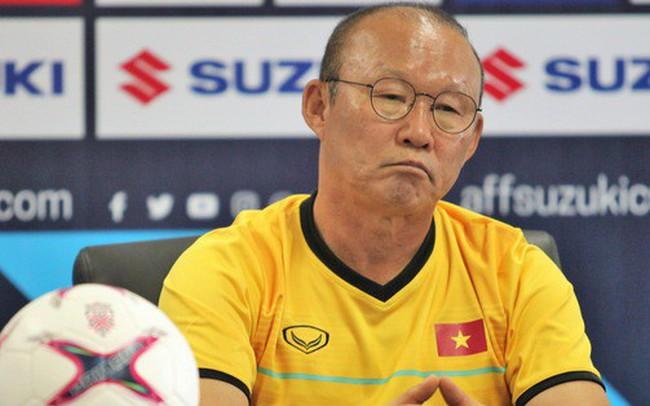 Thắng dễ Lào, HLV Park Hang-seo vẫn bực mình với học trò vì lý do không đáng có