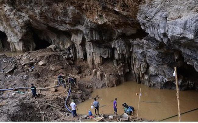 Sập mỏ vàng ở Hòa Bình: Hình ảnh cứu hộ ngày thứ 5 liên tiếp