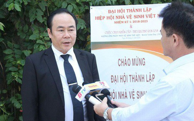 """Chủ tịch Hiệp hội Nhà vệ sinh Việt Nam: """"Chúng tôi mang tâm thiện nguyện"""""""